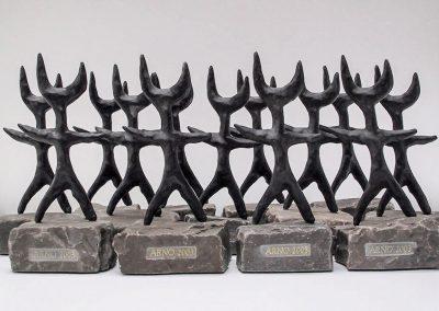 ARNO Skulpturen Sparkassen Kommunikationswettbewerb