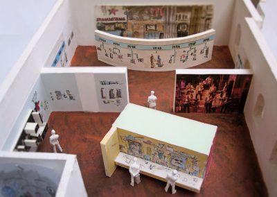 Ausstellung Stunksitzung Konzept Gestalteratelier Blum