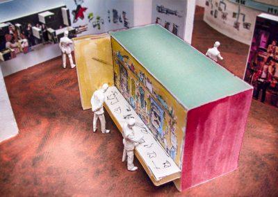 Ausstellungskonzept Stadtmuseum Sonderausstellung Gestalteratelier