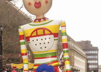 Tragefiguren Koelner Karneval Konzeption Gestalteratelier