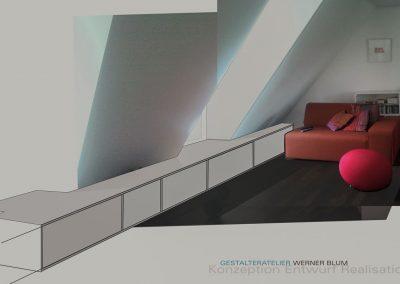 Gestalteratelier Entwurf Schrank
