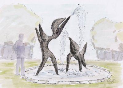 Brunnen Arno Gestalteratelier Entwurf