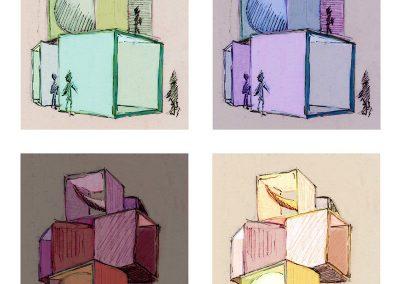 Buehne Tower Illustration Gestalteratelier