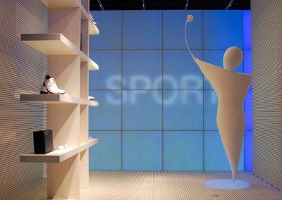 Zumtobel Euroshop Golfer Gestalteratelier