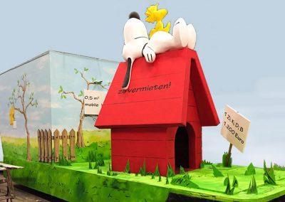 Snoopy Woodstock Grossplastik Gestalteratelier