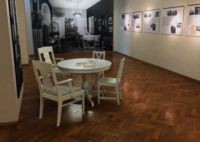 EL DE Haus Kriegserfahrungen Sonderausstellung Gestalteratelier Blum