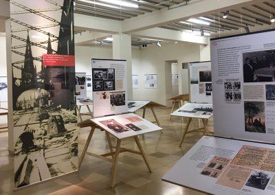 NS DOK Kriegserfahrungen Sonderausstellung Koeln Gestalteratelier