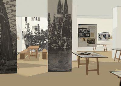 NS DOK Sonderausstellung Entwurf Werner Blum Gestalteratelier