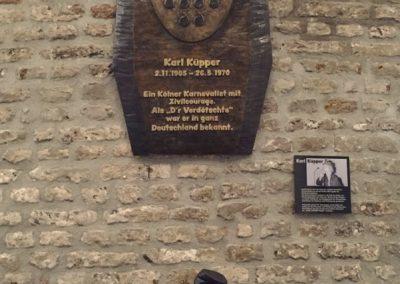 Guerzenich Gedenktafel Karl Kuepper Preis Gestalteratelier